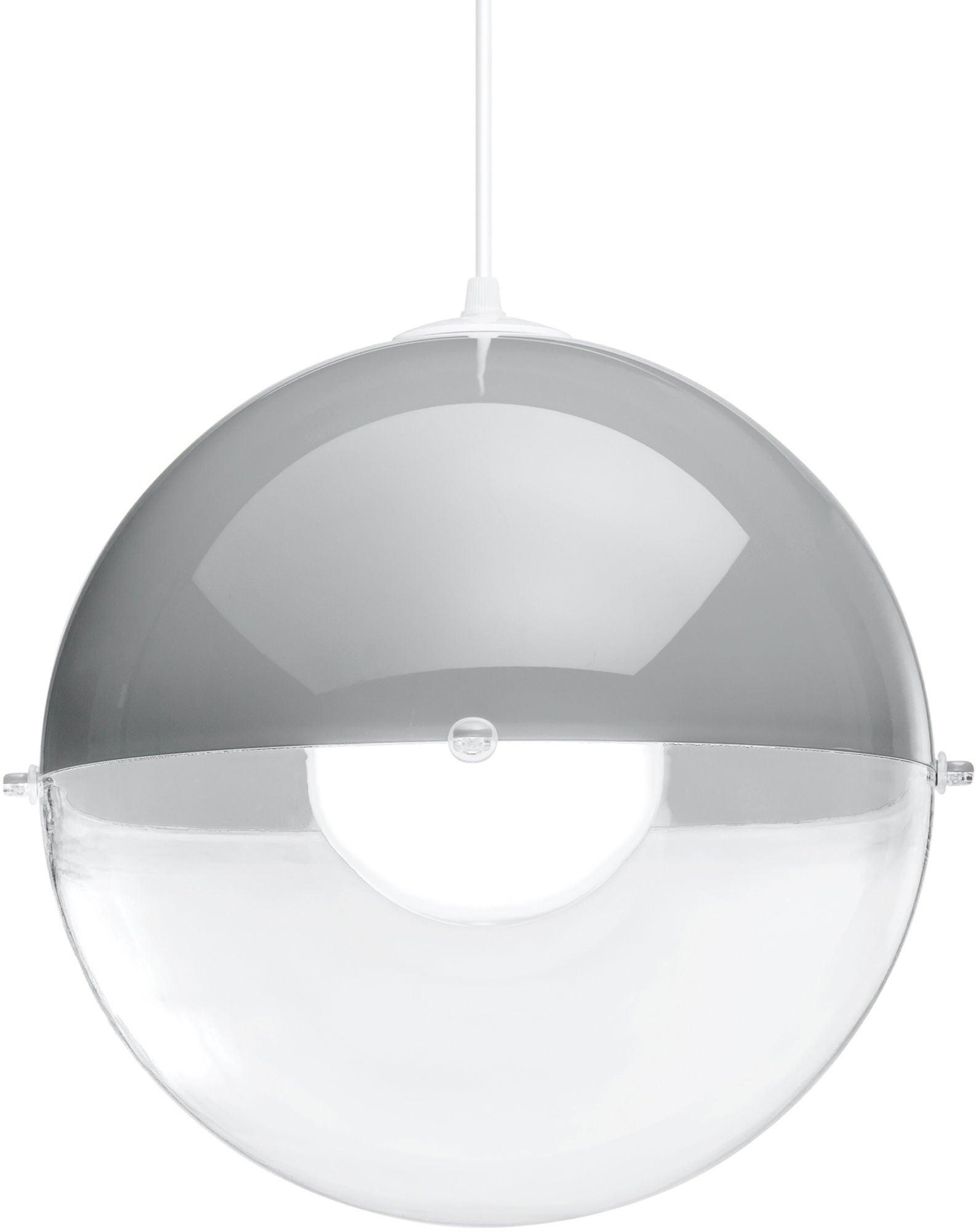 Koziol Kattovalaisin Orion Transparent, Harmaa