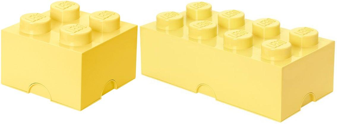 LEGO Laatikkopaketti, Keltainen