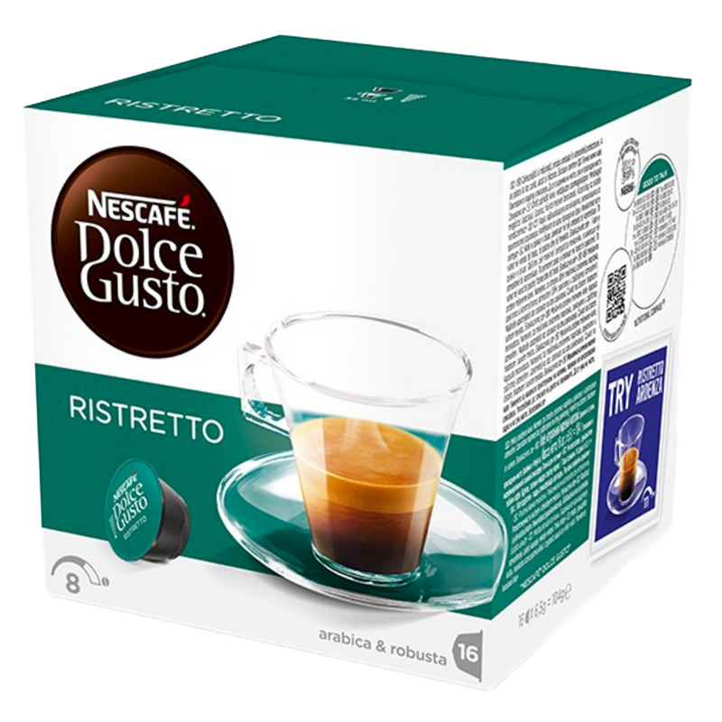 "Kaffekapslar ""Espresso Ristretto"" 16st - 46% rabatt"