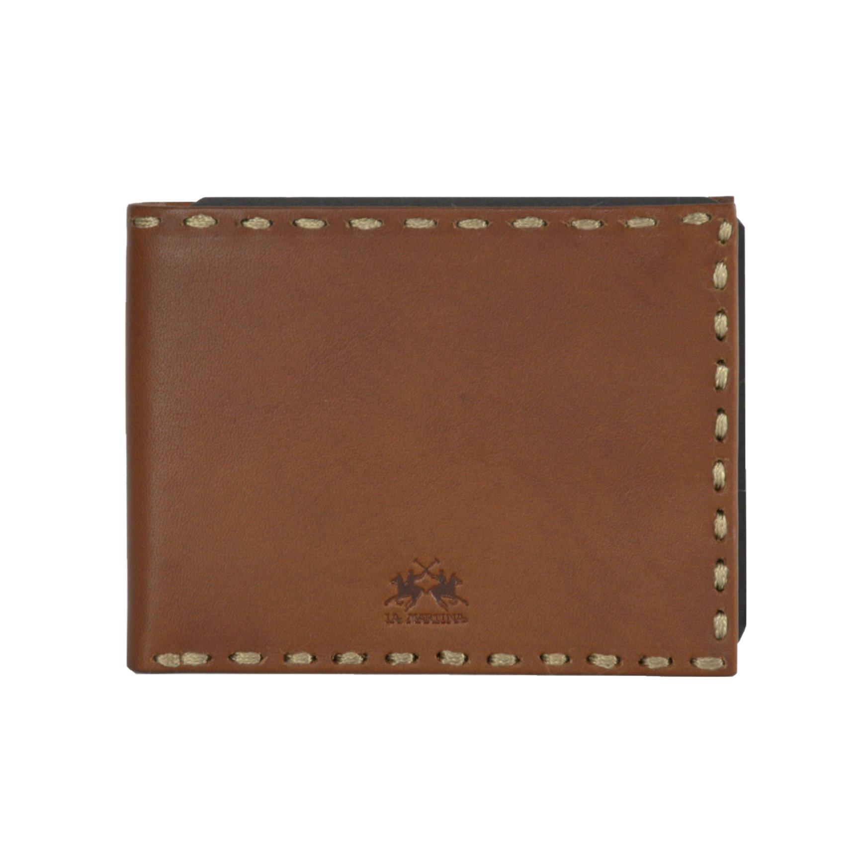 La Martina Men's Wallet Cognac LA1432641