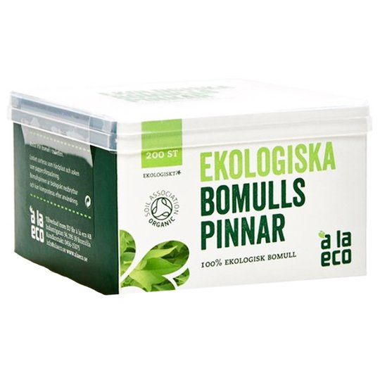 Bomullspinnar Eko 200-pack - 41% rabatt