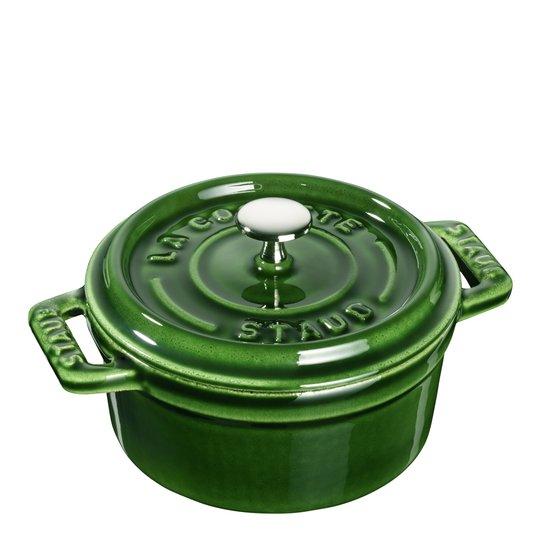 Staub - Gryta 0,25 L rund Grön
