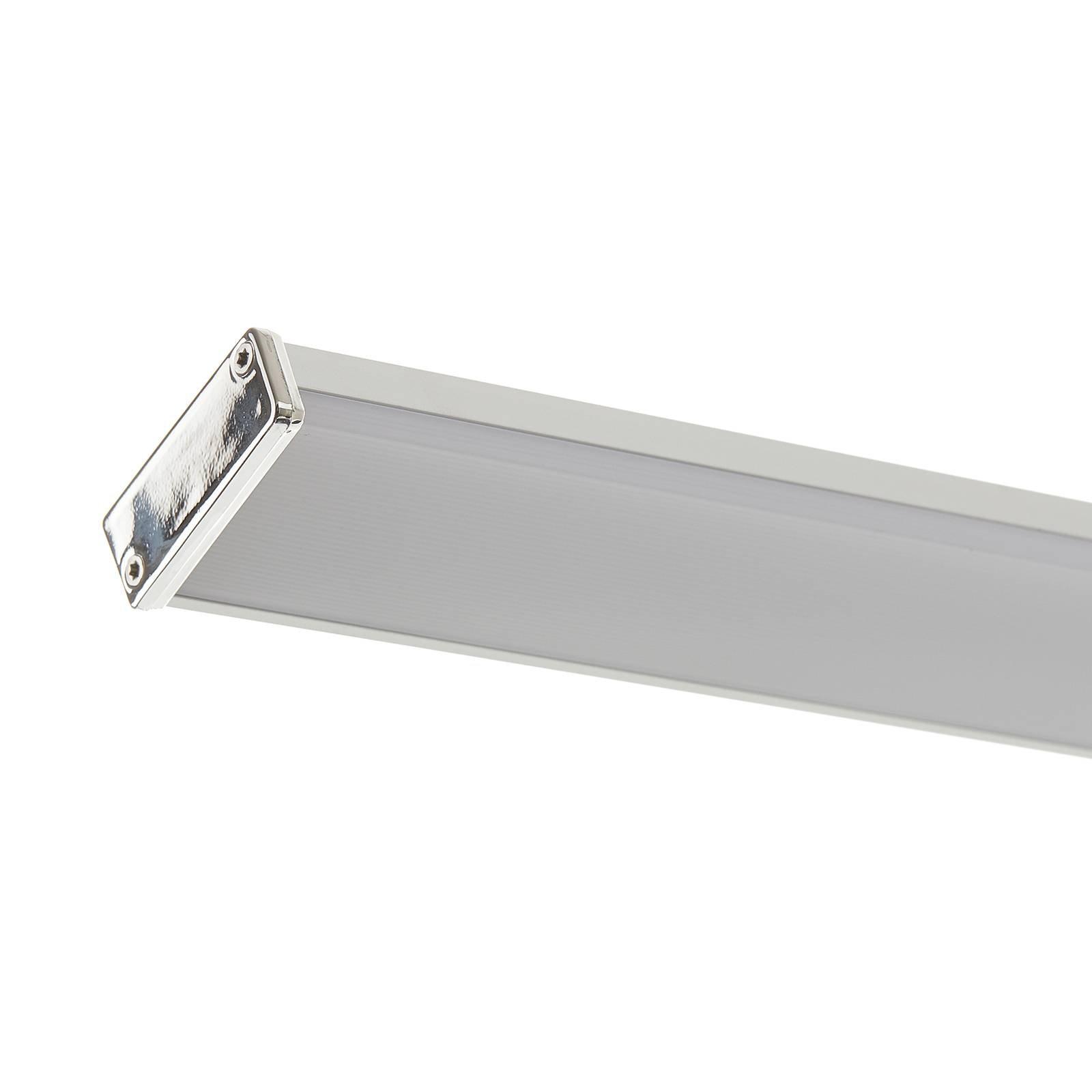Lucande Pamela LED-speillampe krom 90 cm