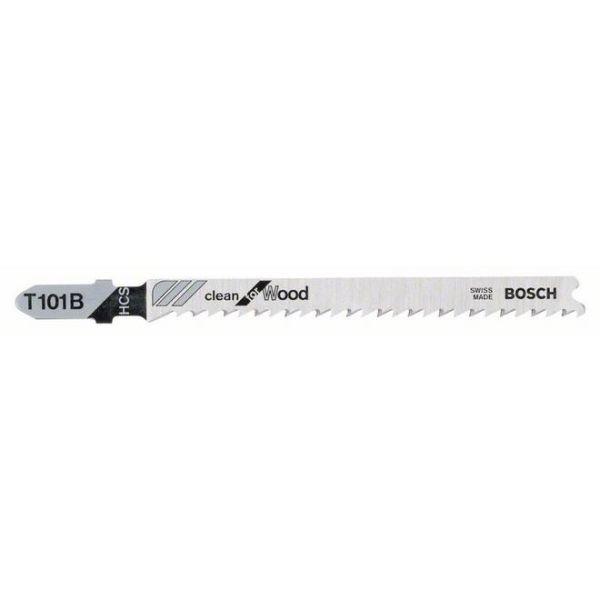 Bosch Clean for Wood T101B Stikksagblad 100mm 100-pakn.