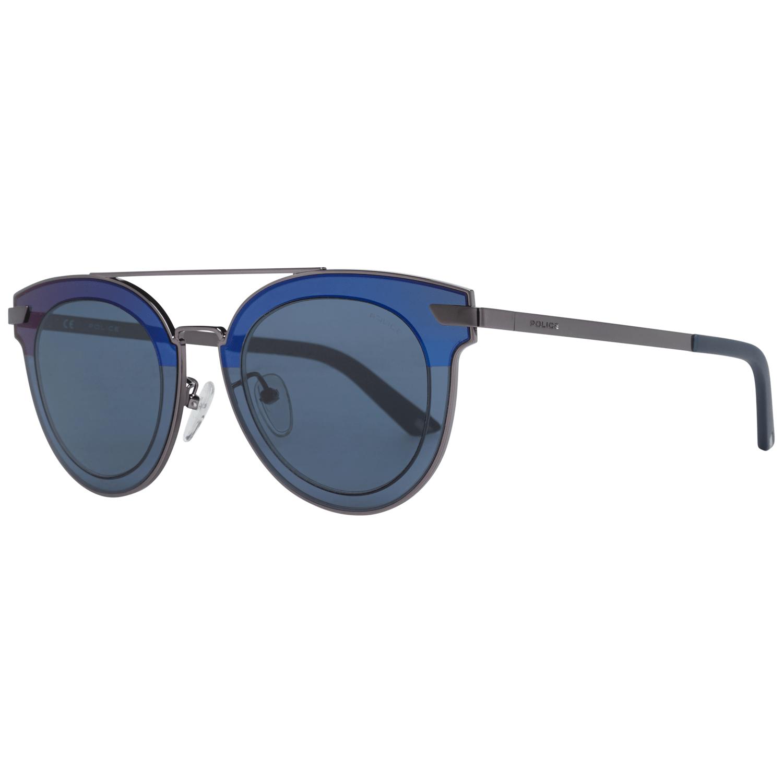 Police Men's Sunglasses Silver SPL349 470568