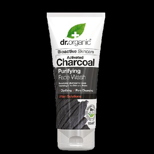 Ansiktstvätt Aktivt Kol, 200 ml