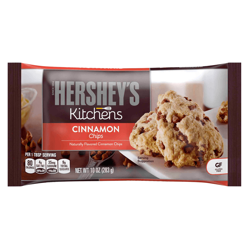 Hersheys Kitchens Cinnamon Baking Chips 283g
