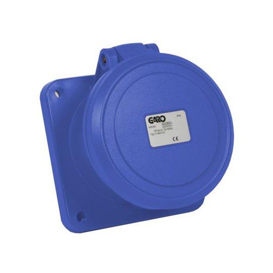 Garo UI 363-9 S Paneelin ulostulo IP44, 4-napainen, 63A Sininen, 9 h