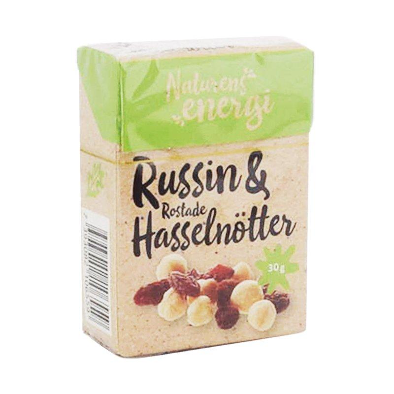Rusinat & Hasselpähkinät 30g - 17% alennus