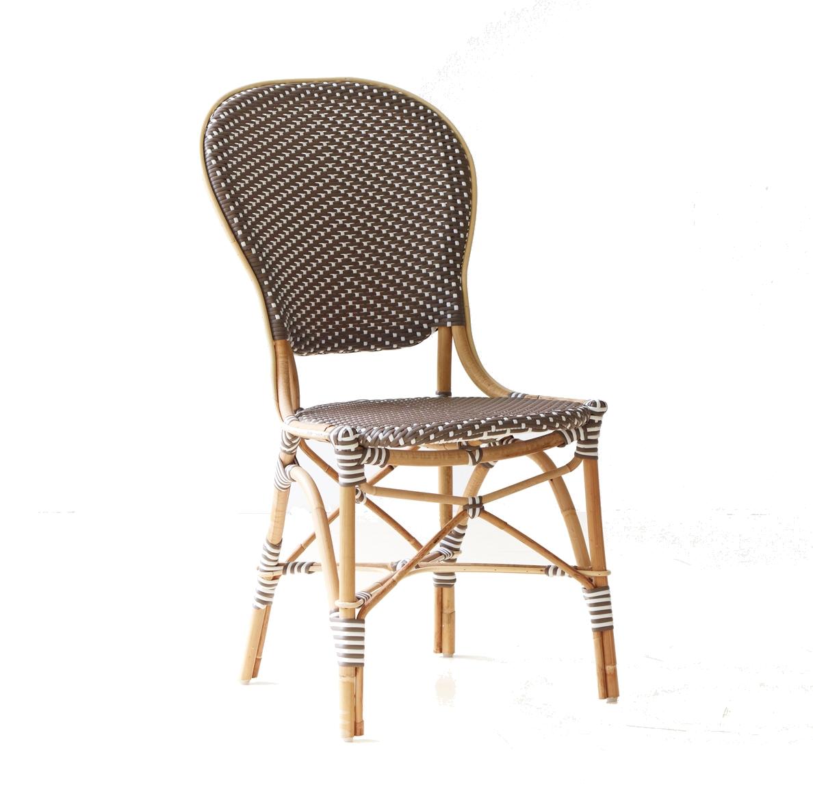 Isabell chair caféstol Affäire brun, Sika-design