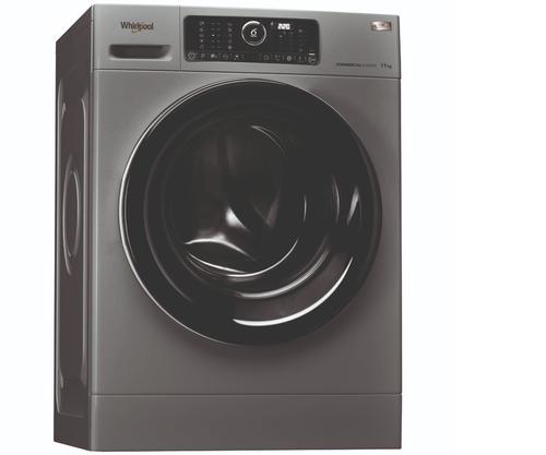 Whirlpool Awg1112s/pro Tvättmaskin - Svart/silver