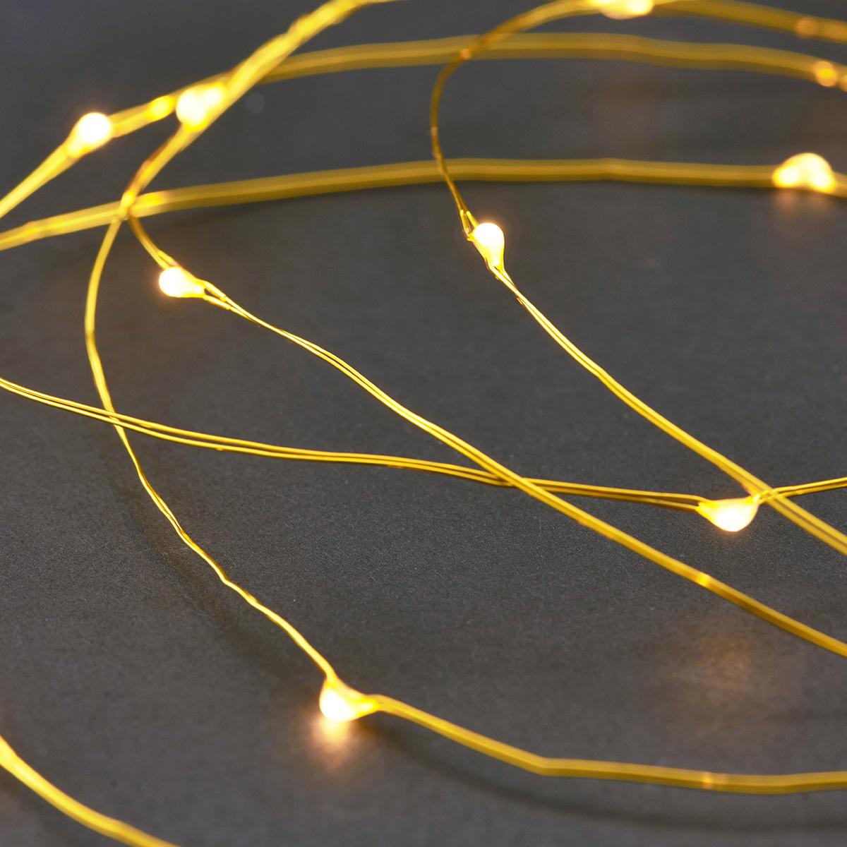 House Doctor - Garland Lights - Brass (Vg0212)