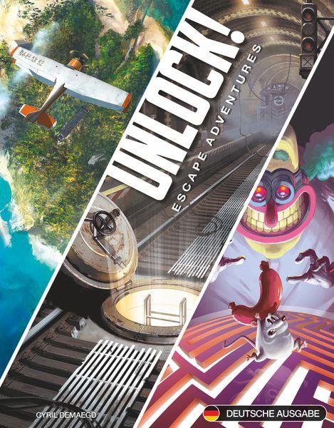 Unlock! 1 - Escape Adventures (English) (AMDUNLOCK01)