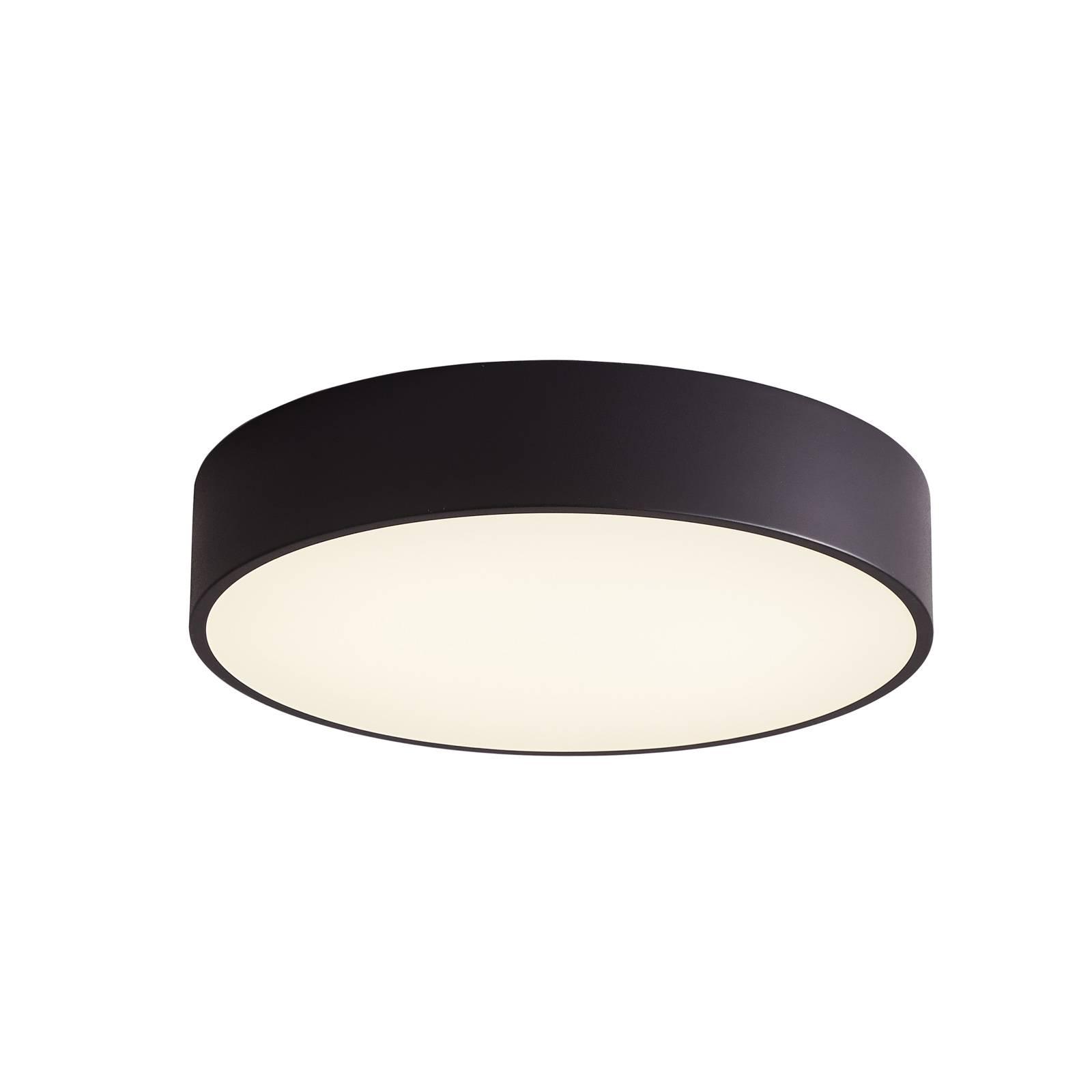 Arcchio Noabelle -LED-kattovalaisin, musta, 80 cm