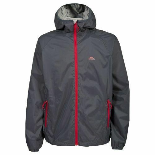 Trespass Men's Jacket Various Colours Rocco - Flint S