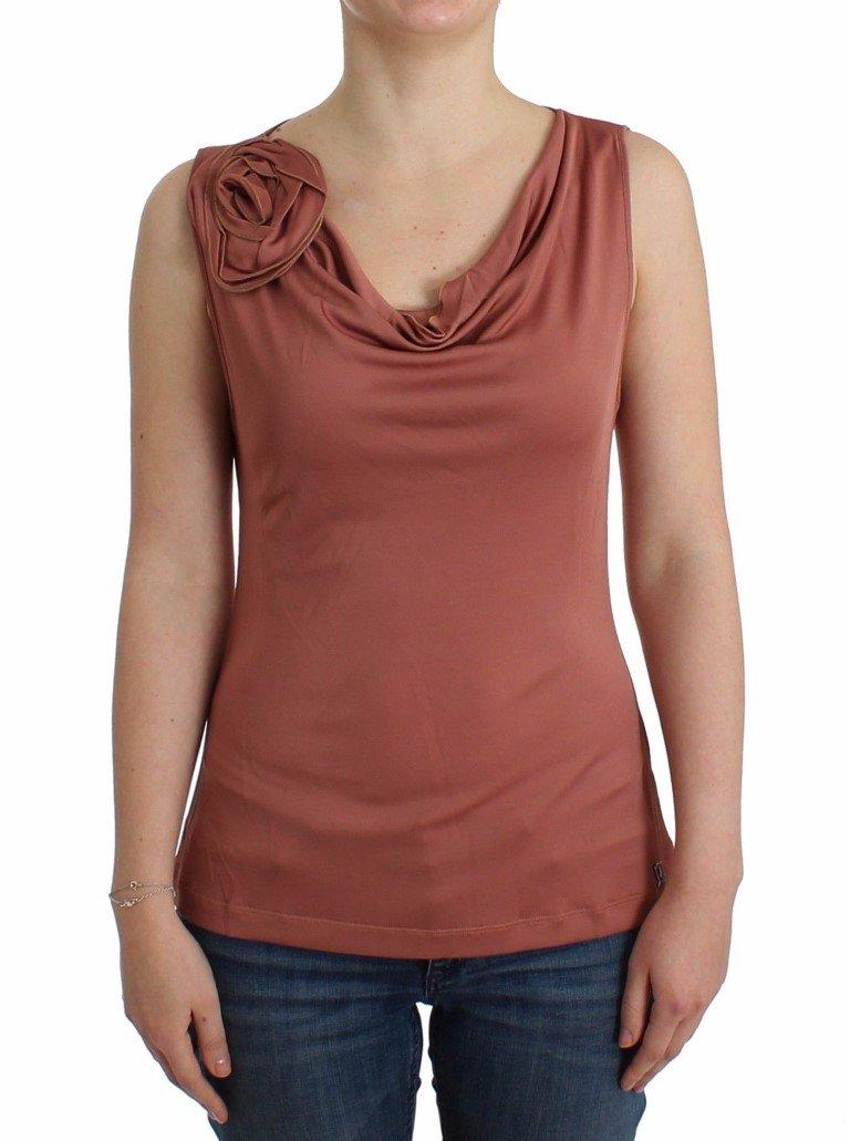 John Galliano Women's Sleeveless Top Pink SIG11886 - XXS