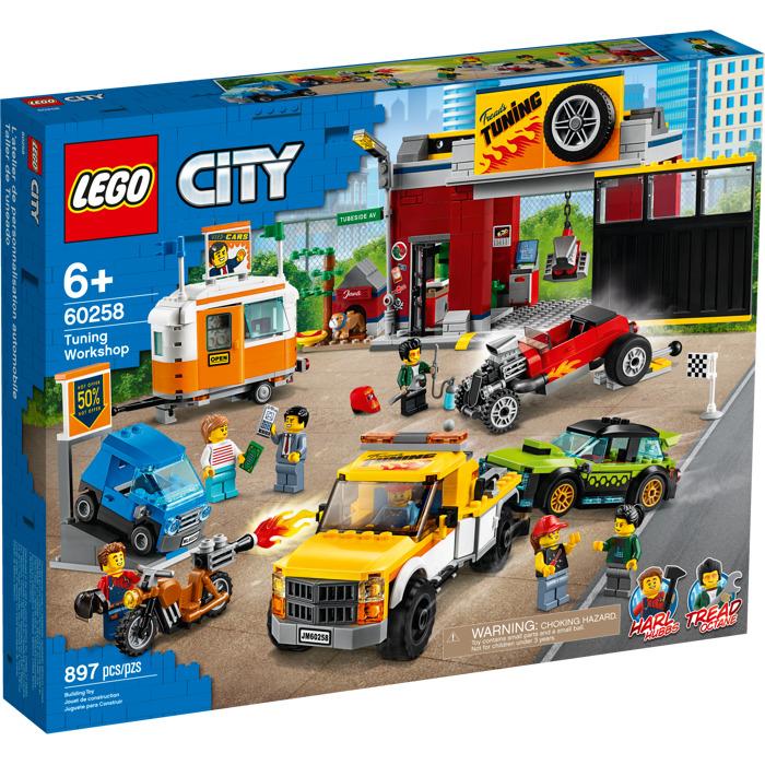 LEGO City - Tuning Workshop (60258)