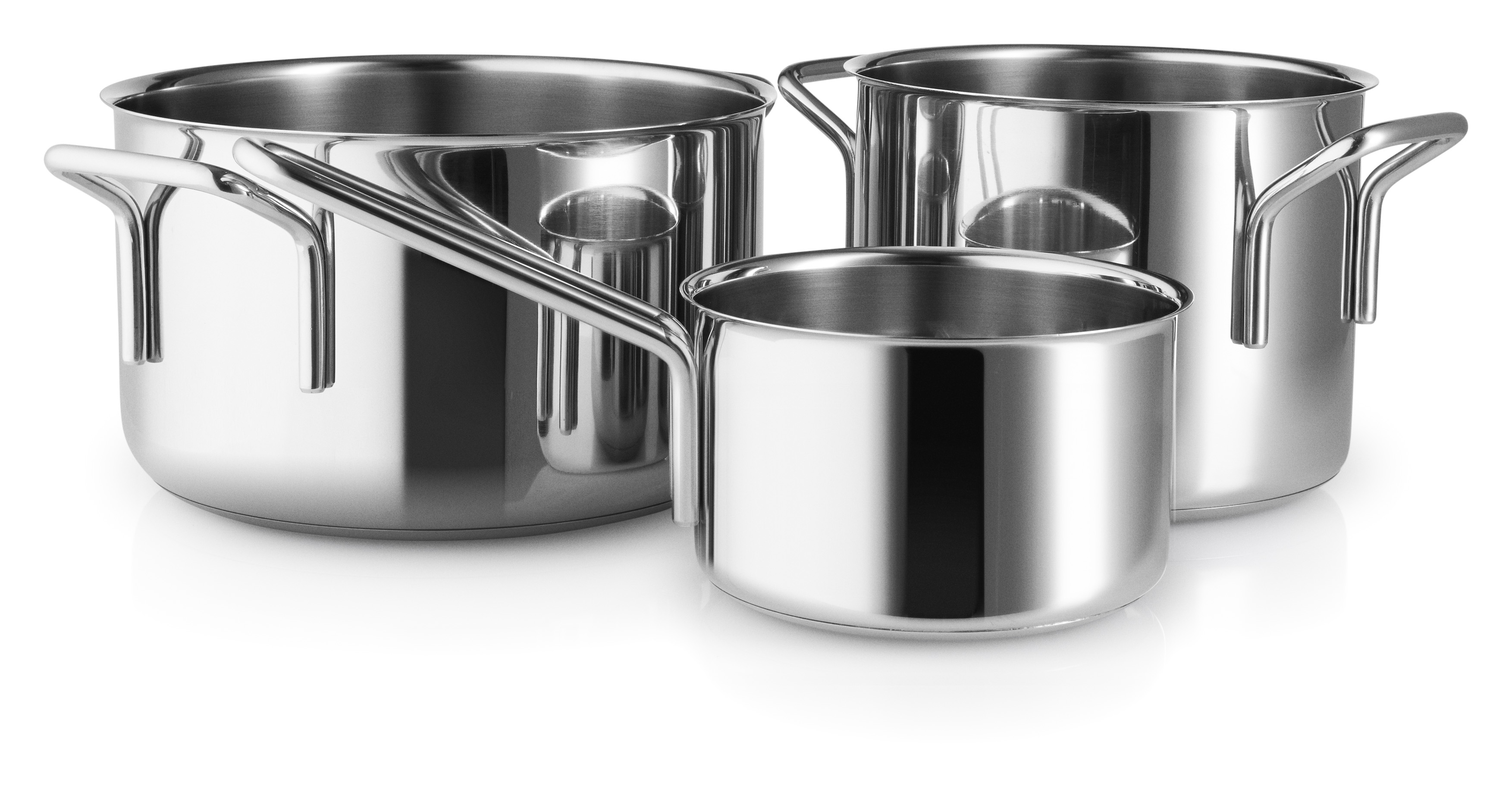 Eva Trio - Stainless Steel Collection Box Set w/3 pots (94202411)