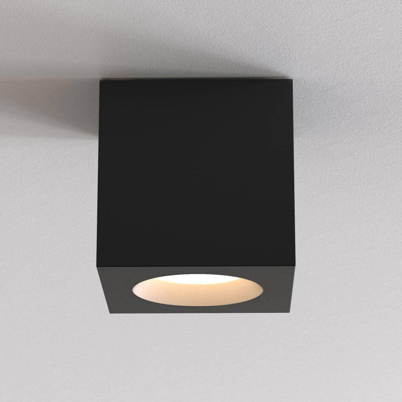 Astro Kos Square II taklampe, svart
