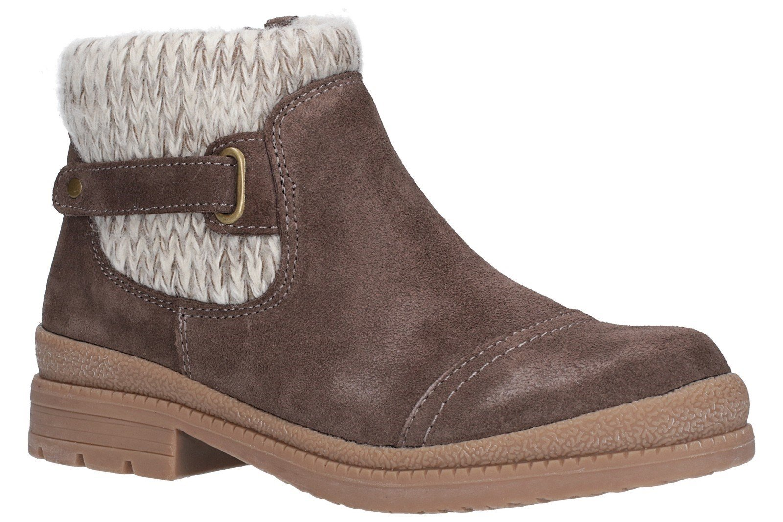 Fleet & Foster Women's Rummy Ankle Boot Brown 27146-45607 - Taupe 3