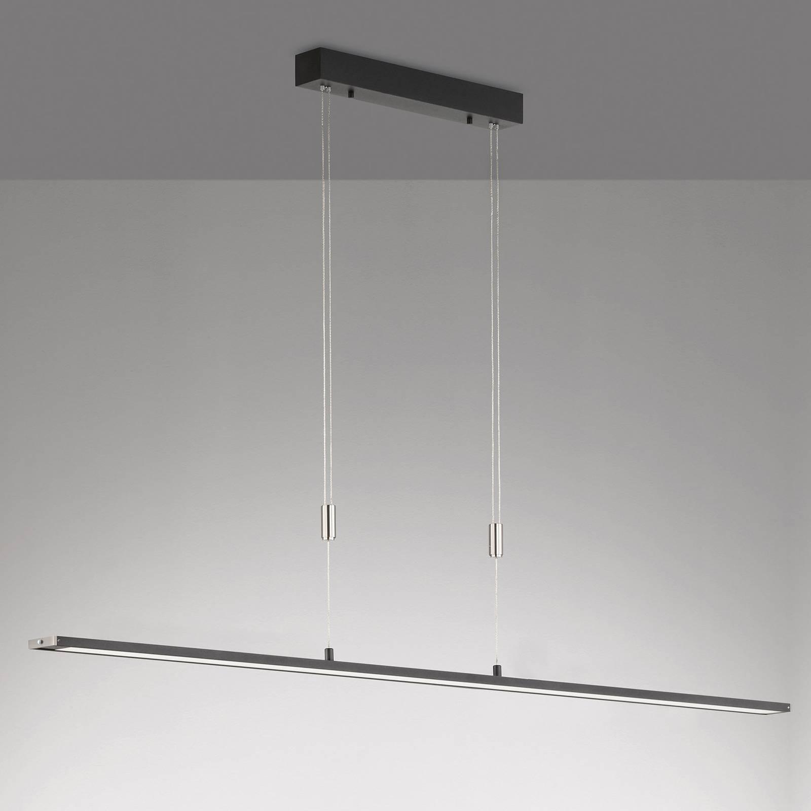 LED-riippuvalaisin Metz TW, CCT, P 160 cm, musta