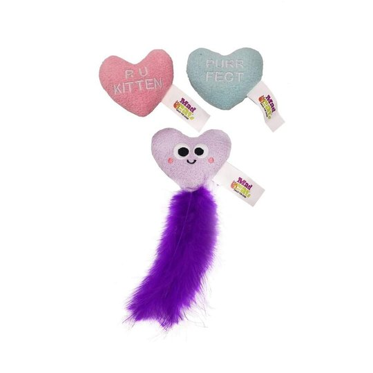 R2PPet MadCat Candy Hearts 3-pack