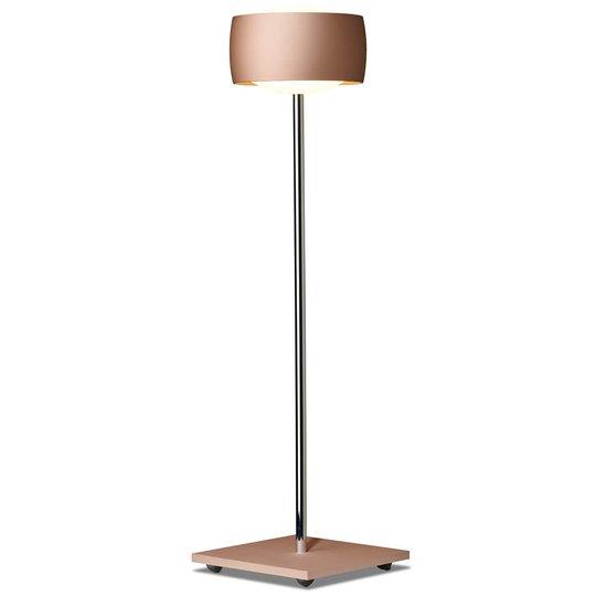 Eleohjauksella - LED-pöytälamppu Grace kupari