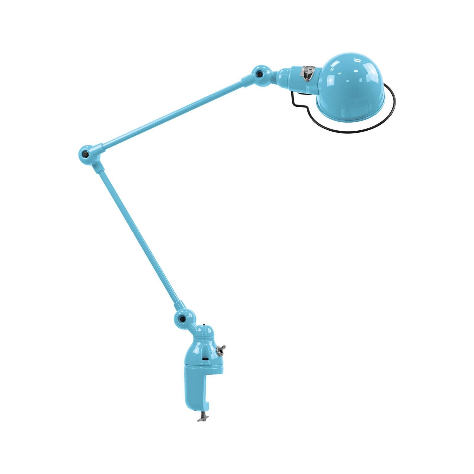 Jieldé Signal SI332-pöytälamppu, kiinnitin sininen