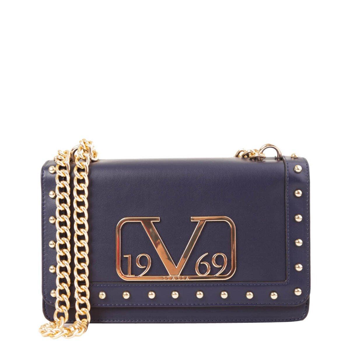 19v69 Italia Women's Shoulder Bag Various Colours 318683 - blue UNICA