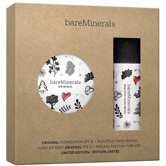Original Foundation & Brush Kit Medium Beige, bareMinerals Meikkivoiteet