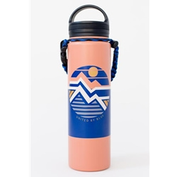 United By Blue Geo Mountain 22Oz Stainless Steel Bottle