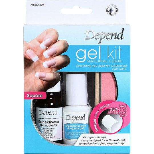 Gel Kit Natural Look, Depend Irtokynnet