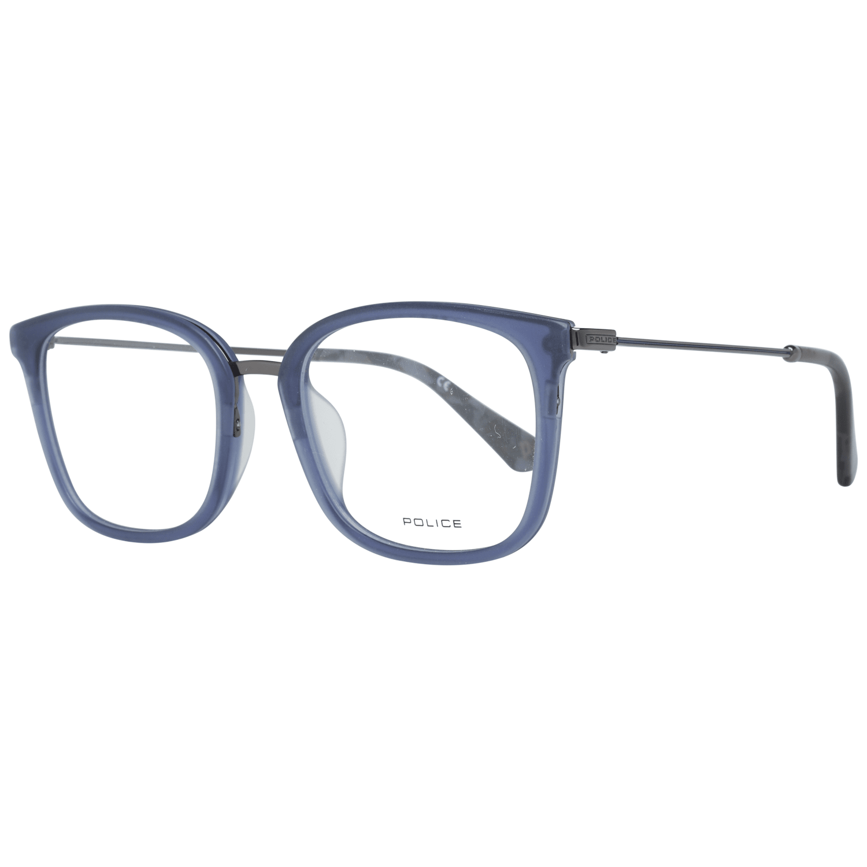 Police Men's Optical Frames Eyewear Blue VPL561 51955M