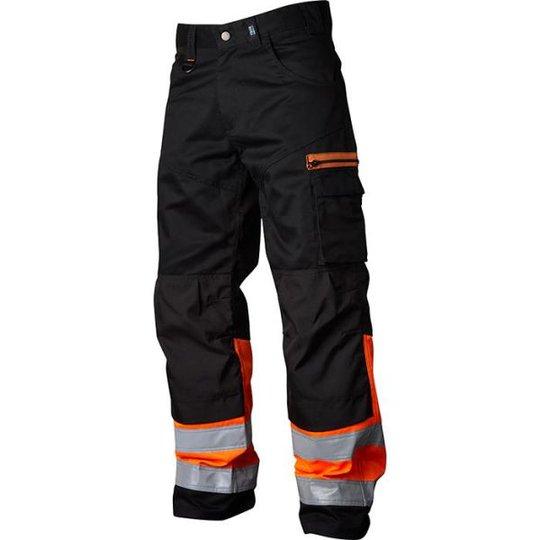 Vidar Workwear V500552C046 Vyötäröhousut oranssi/musta C46