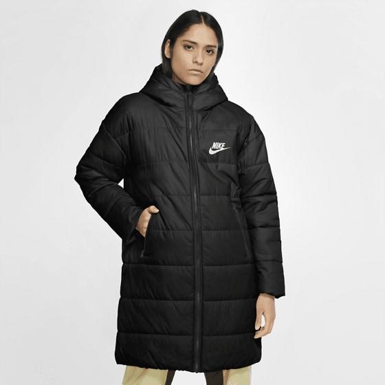 Nike W Core Syn Parka Jackor BLACK/WHITE