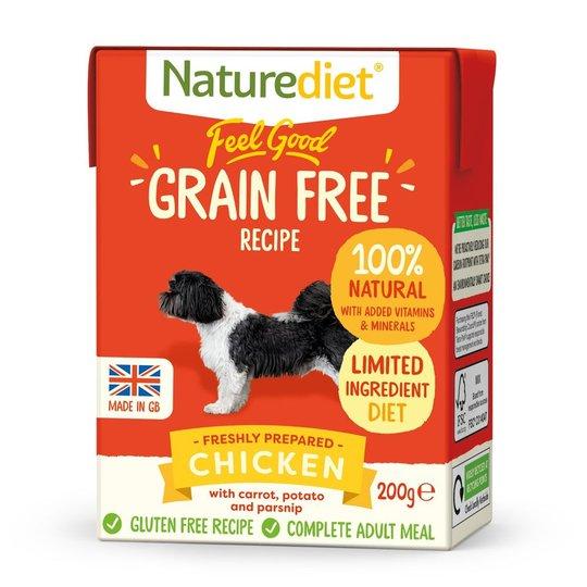 Naturediet Grain Free Kyckling (200 g)