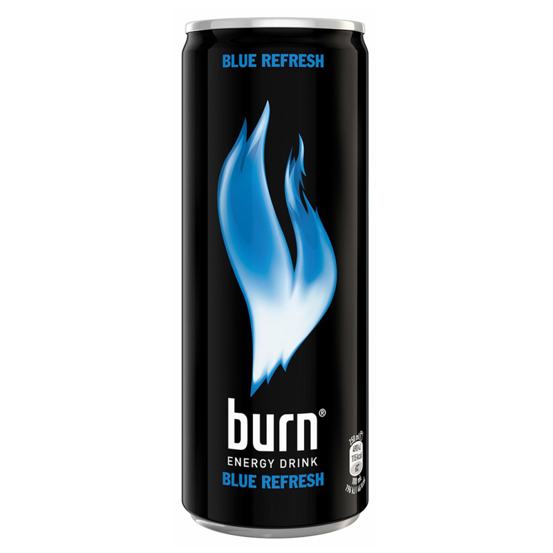"Energidryck ""Burn Blue"" - 33% rabatt"