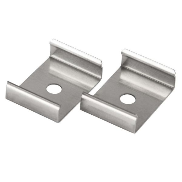 Hide-a-Lite Clips Art Feste 2-pakning Aluminium