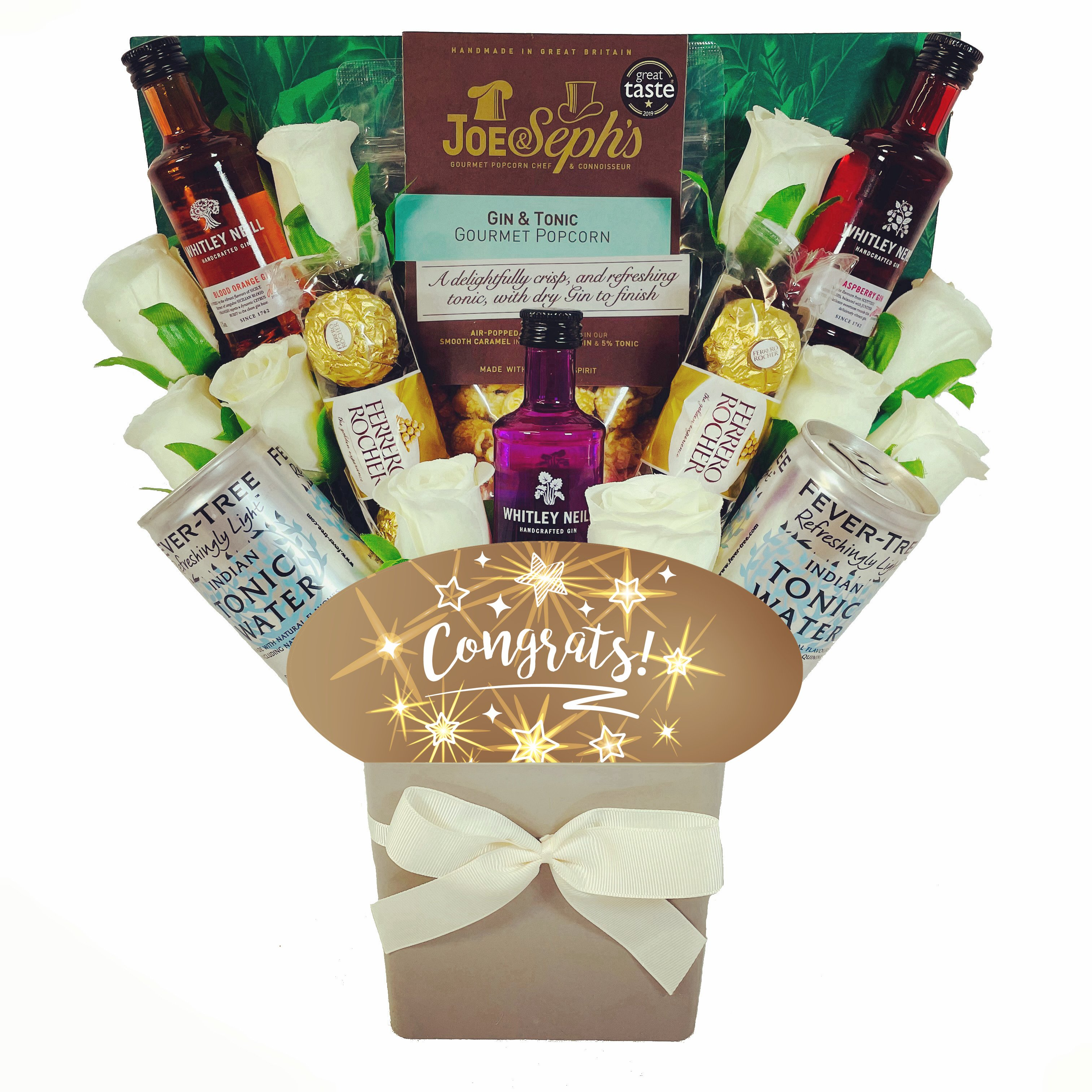 The Congrats Whitley Neill Gin & Tonic Bouquet