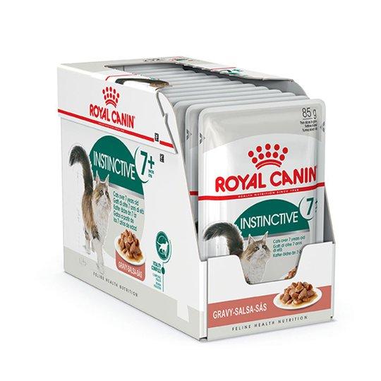 Royal Canin Instinctive +7 Gravy Wet (12x85g)