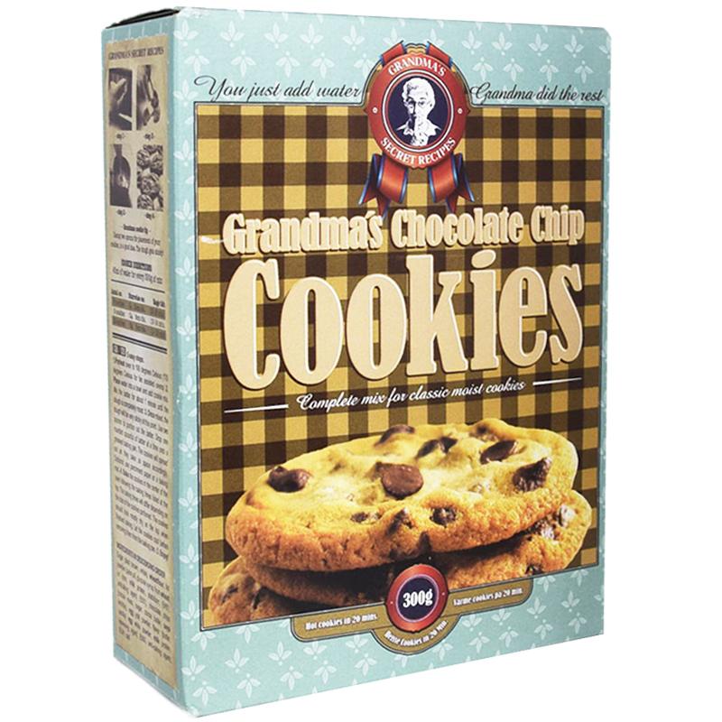"Bakmix ""Chocolate Chip Cookies"" 300g - 60% rabatt"