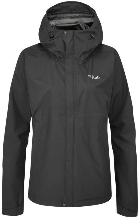 Downpour Eco Jacket Women Musta 12