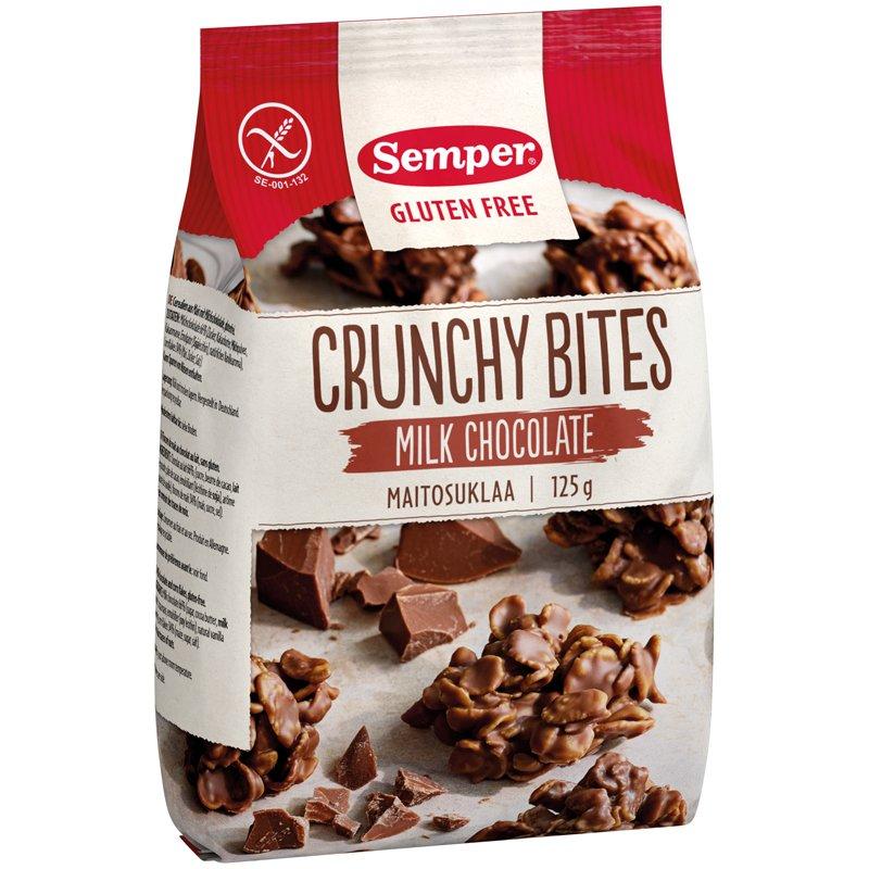 Crunchy Bites Maitosuklaa - 37% alennus