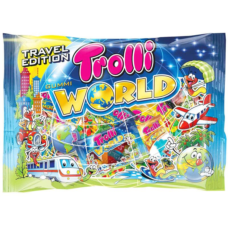 Trolli Makeissekoitus World Travel - 34% alennus