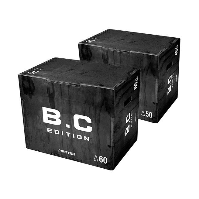 Master Fitness B.C Plyobox 50 - 50 - 75 cm