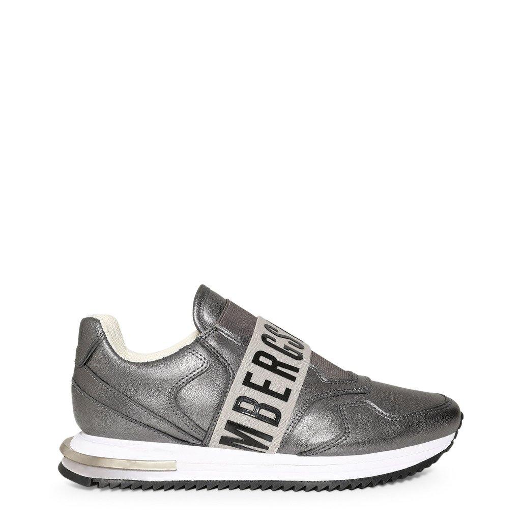 Bikkembergs Women's Trainer Grey B4BKW0056 - grey EU 38