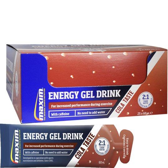"""Hel Låda """"Instant Gel Drink"""" Cola 25 x 60ml - 41% rabatt"""