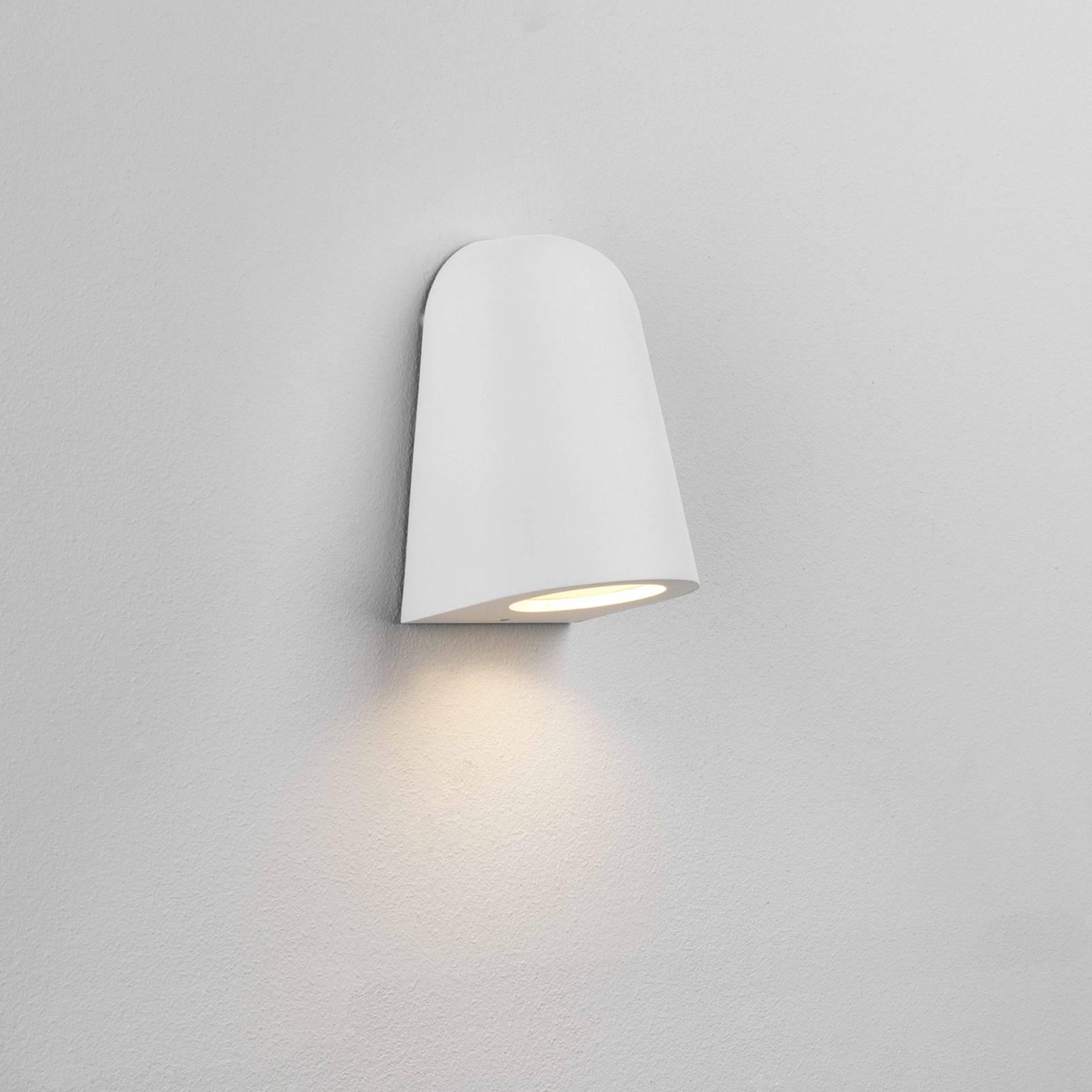 Astro Mast Light -ulkoseinälamppu, valkoinen