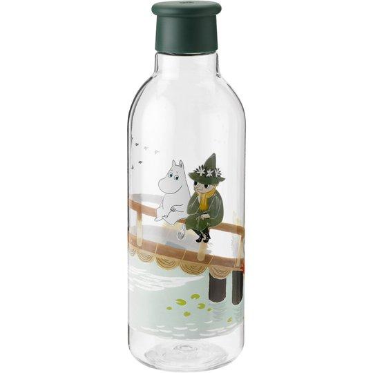 RIG-TIG DRINK-IT Mumintroll vattenflaska, ljusgrå
