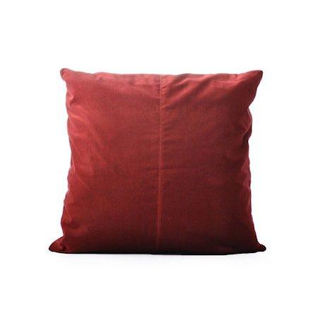 Putevar New Red Velvet 50 x 50 cm